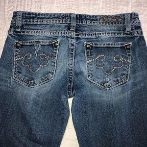 REROCK EXPRESS distressed Jeans size 4L 32 INSEAM